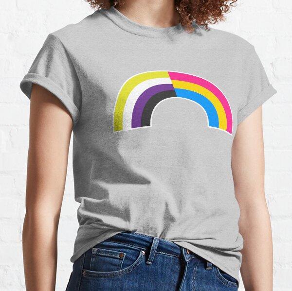 Non-Binary Pan Rainbow Classic T-Shirt