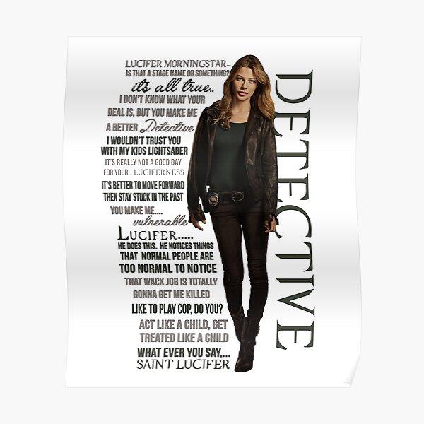 "Chloe ""The Detective"" Decker Citations Poster"