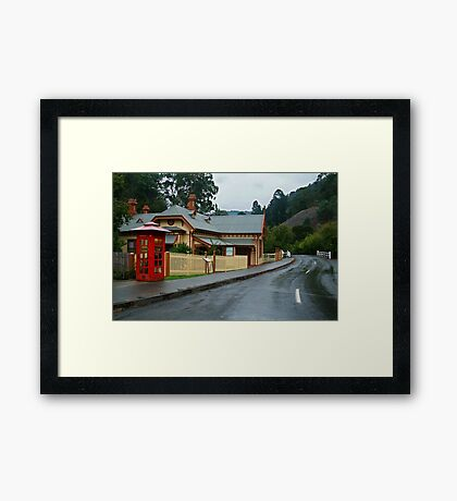 Walhalla Post Office Framed Print