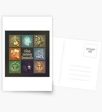 The Mana Bunch Postcards