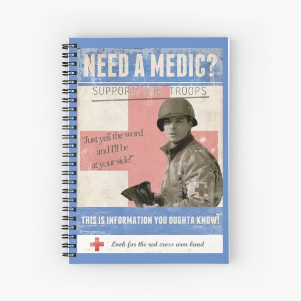 Doc Roe Band of Brothers Spiral Notebook