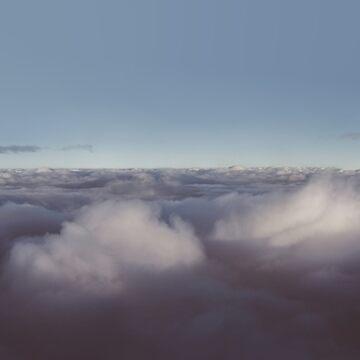 Panorama der Wolken über Himmel von va103