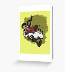 Fight & Flight Greeting Card