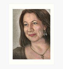 Kym-Marie - Equality Campaigner - Pastel Art Print