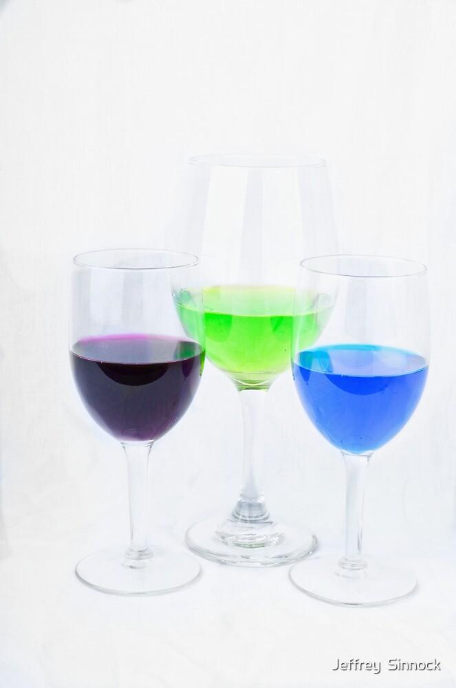 Three colors by Jeffrey  Sinnock