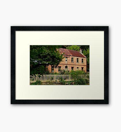 Windsor House Walhalla,1878 Framed Print