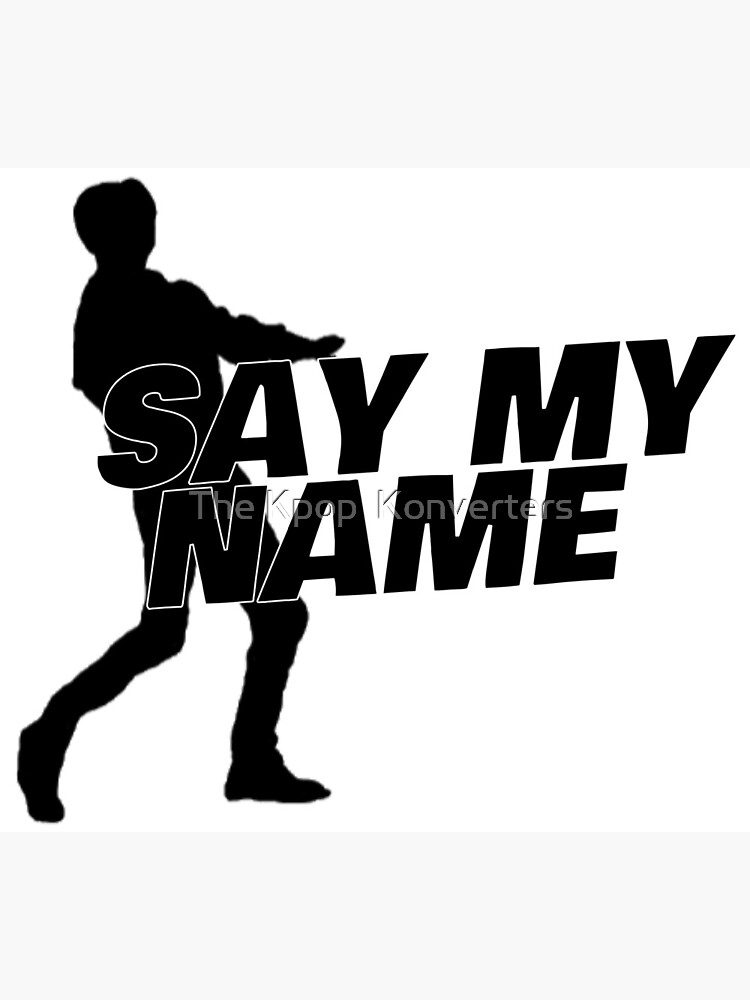 """""""ATEEZ Say My Name driving dance silhouette"""" Canvas Print ..."""