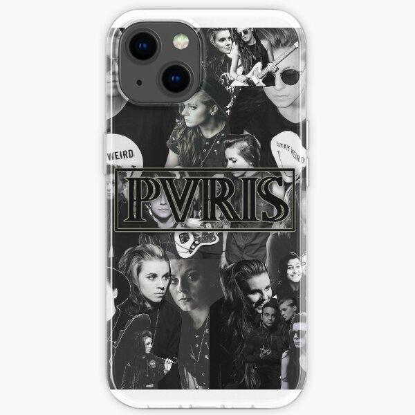 PVRIS - Lynn Gunn Collage iPhone Soft Case