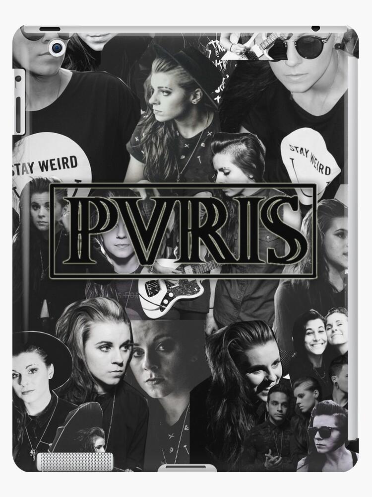 PVRIS Lynn Gunn Collage iphone case