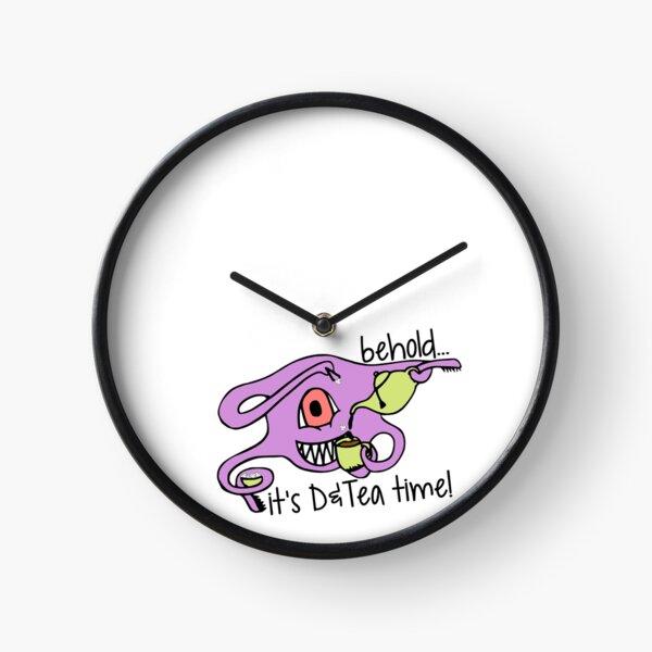 It's D&Tea Time Clock