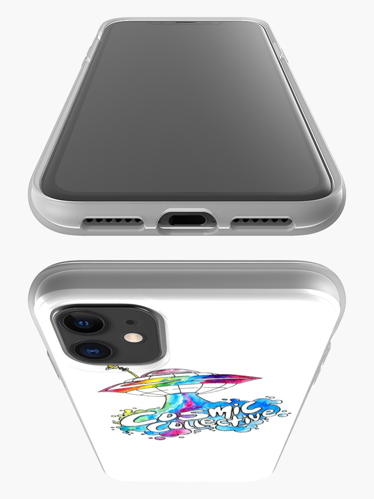 Alternate view of the Cosmic Space Ship iPhone Case & Cover