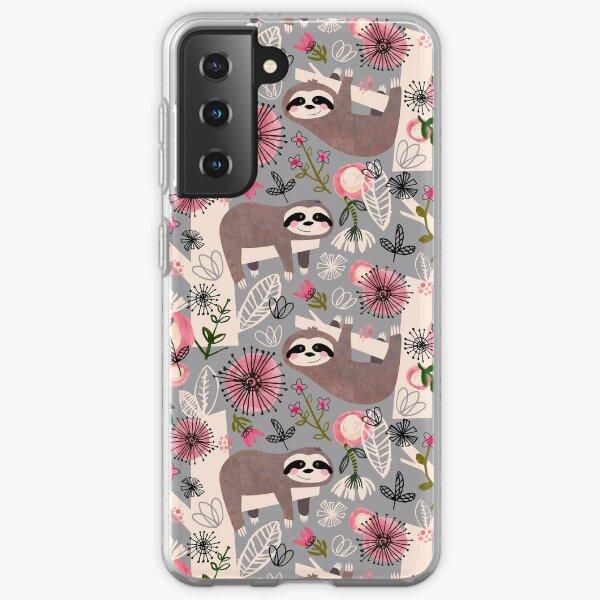 Lovable Sloths Samsung Galaxy Soft Case