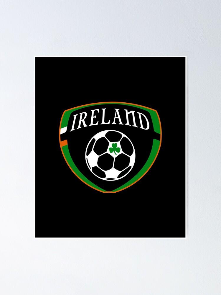 Alternate view of Lucky Ireland Soccer  Poster