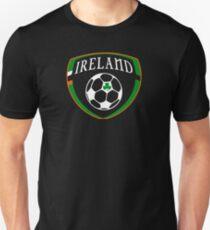 Lucky Ireland Soccer  Unisex T-Shirt
