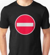 No Entry Symbol T-Shirt