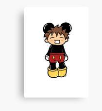 Manga Mickey Canvas Print