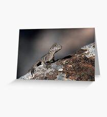 Eastern Water Dragon Greeting Card