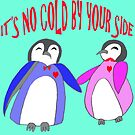 It's no cold by your side. Mr and Mrs Penguin by arkitekta