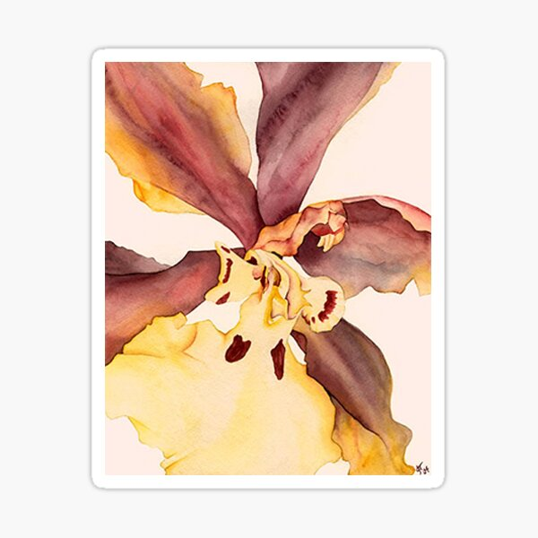 Fading Orchid #14 Sticker