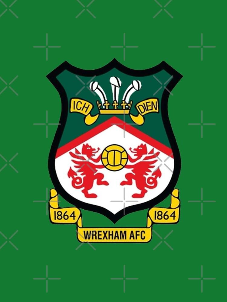 Wrexham AFC Logo by Etchedclothing
