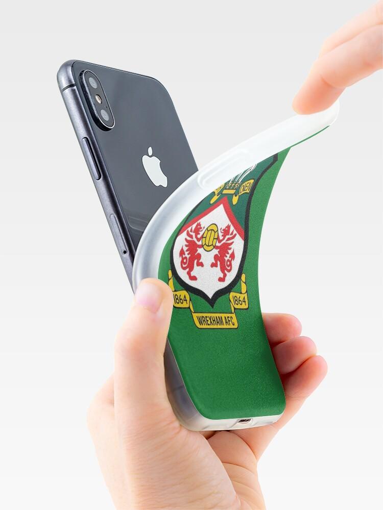 Alternate view of Wrexham AFC Logo iPhone Case & Cover
