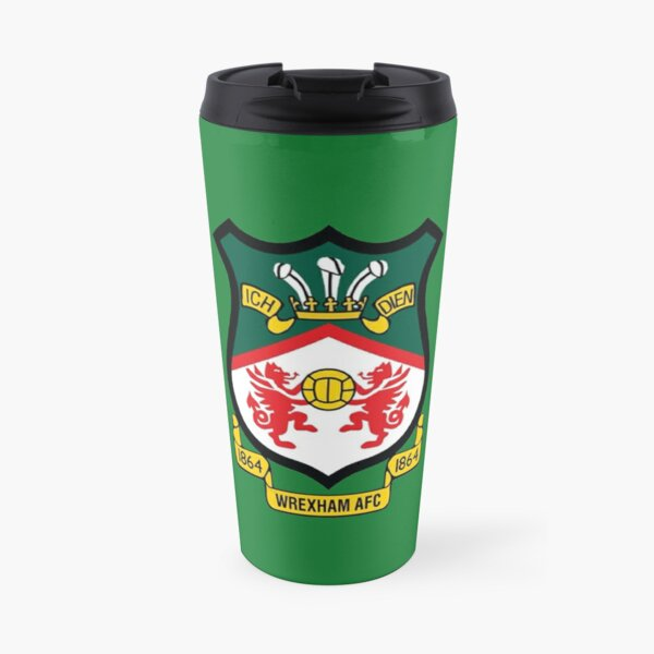 Wrexham AFC Logo Travel Mug