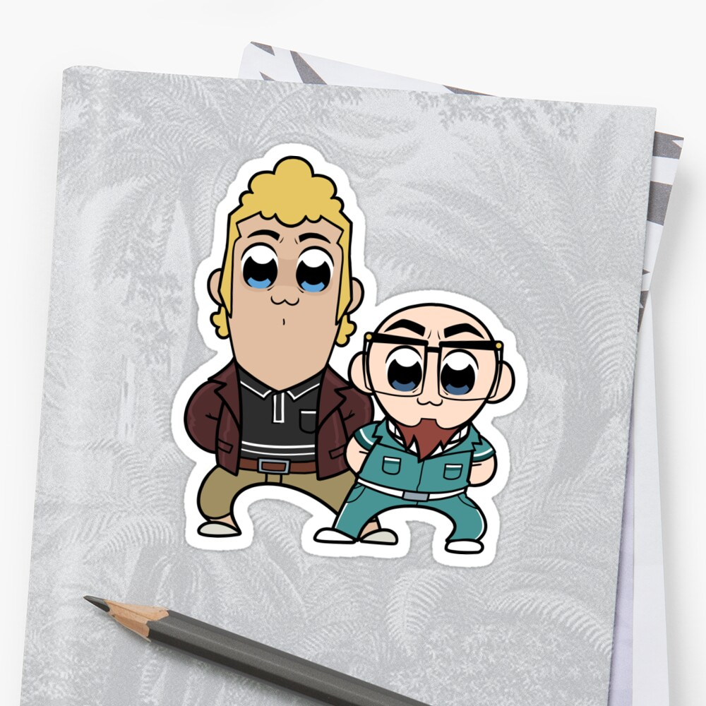 Pop Team Venture Sticker