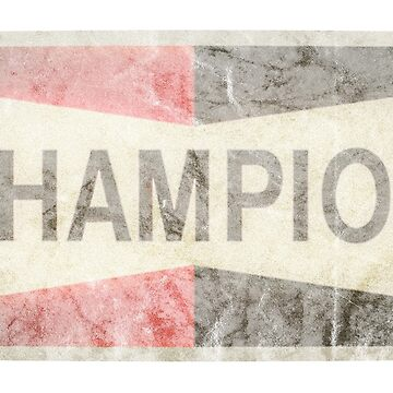 Champion Auto Parts Faded by metropol