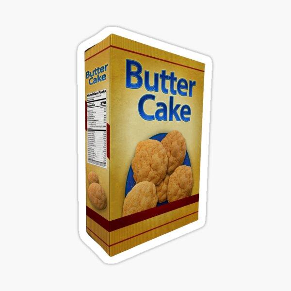 Butter Cake Sticker