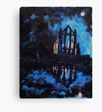 'Whitby Abbey' Canvas Print