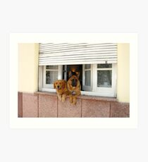 Security System - On Art Print