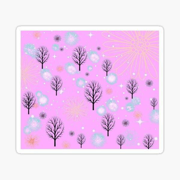 Winter wonderland design Sticker