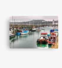 The Harbour ~ Scarborough Canvas Print