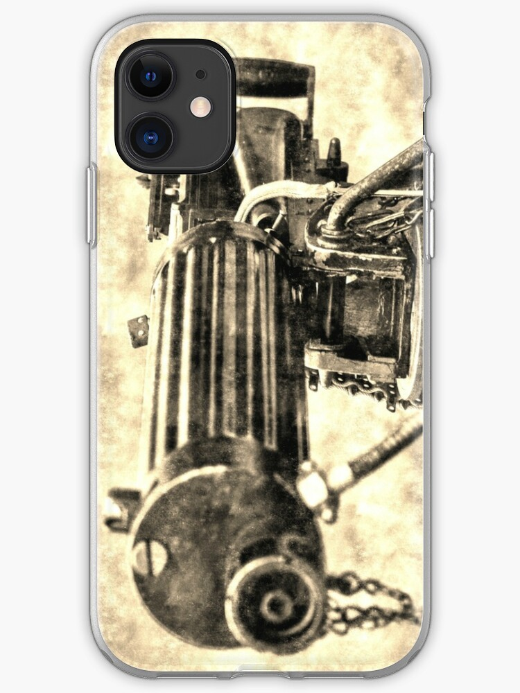 Vickers Machine Gun Vintage Ww1 Iphone Case Cover By Bejacs Redbubble