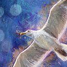 Impressionistische Möwe 1 von Peggy Collins