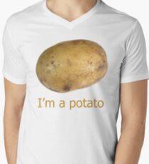 I'm a potato Men's V-Neck T-Shirt