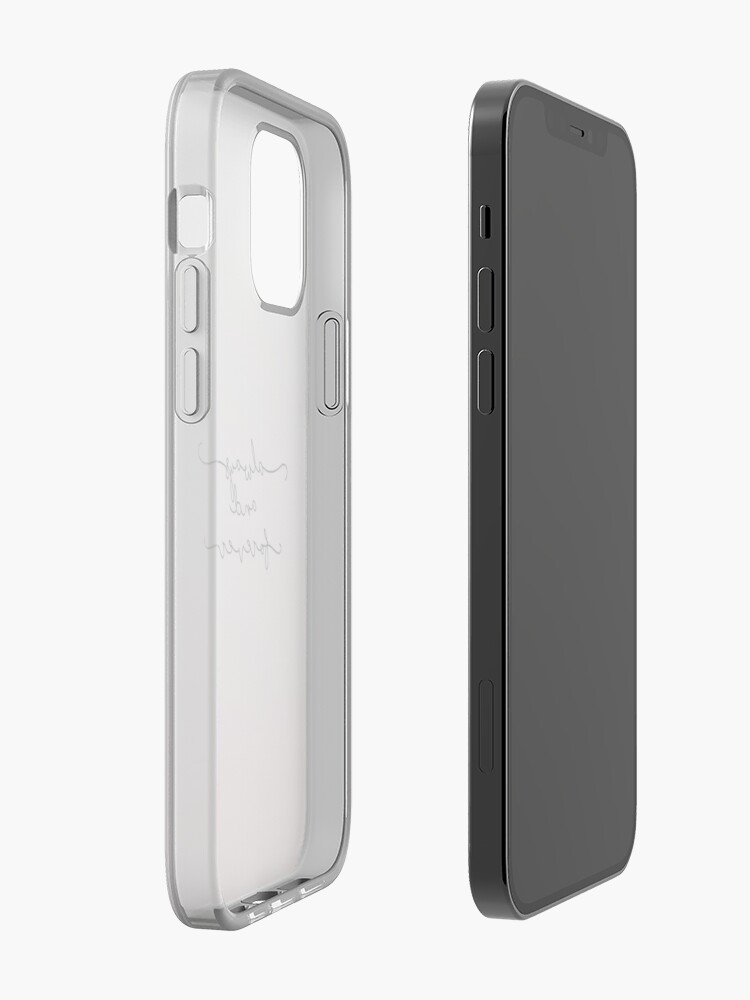 Alternate view of Always and Forever  iPhone Case & Cover
