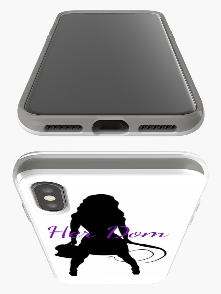 Alternate view of Her Dom iPhone Cases & Covers