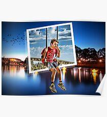 River Swing Poster