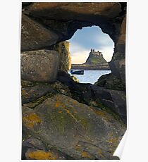 Lindisfarne Castle - Holy Island, Northumberland Poster