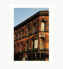 Manchester's Textile past Art Print