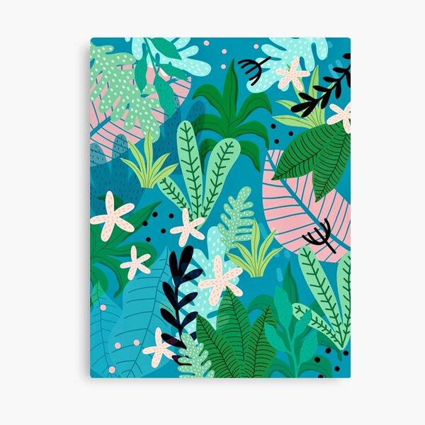 Into the jungle - twilight Canvas Print