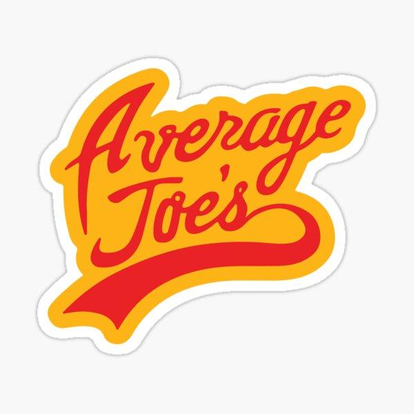 Average Joe's Gym Sticker