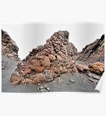Lanzarote - Montana de las Lapas del Cuervo Poster