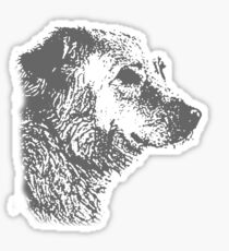 the dog Sticker