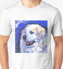 Great Pyrenees Mountain Dog Bright colorful pop dog art T-Shirt