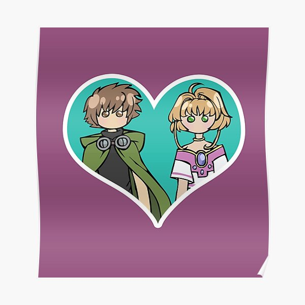 Syaoran and Sakura - shipping dolls Poster