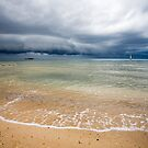 Approaching Storm at Half Moon Bay by Stephanie Johnson
