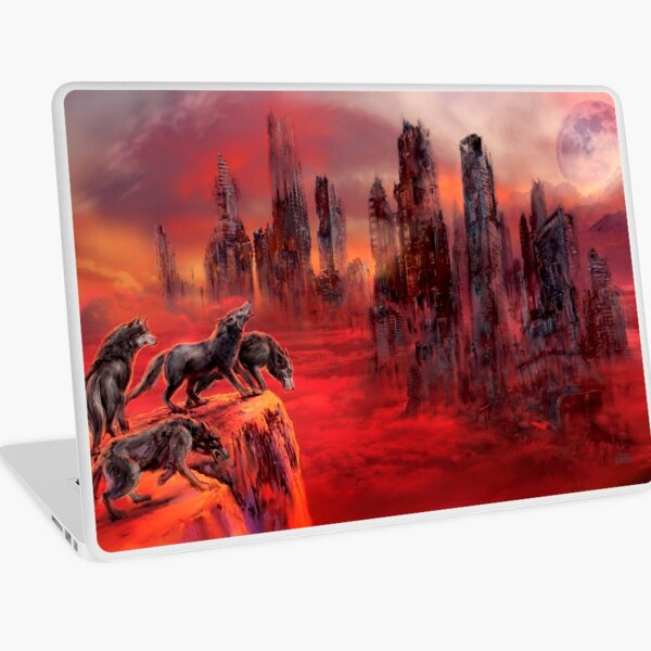 Wolves of Future Passed Laptop Skin