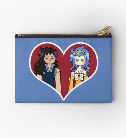 Gajeel and Levi - shipping dolls Zipper Pouch